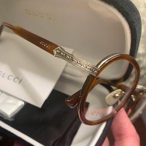THX SALE🍁GUCCI 48 Acetate/Titanium UNISEX Glasses